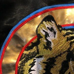 24f70a340 Black Coogi Lion Bomber Jacket